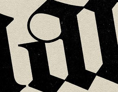 Old Style Serif & Blackletter