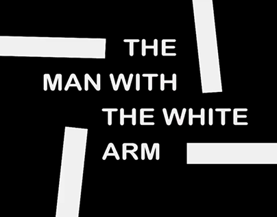 THE MAN WITH THE WHITE ARM title sequence