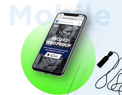 WodProof - UX/UI