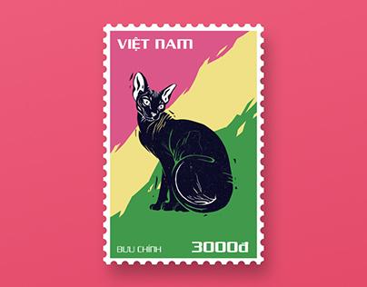 """Sphynx"" Postage Stamps"