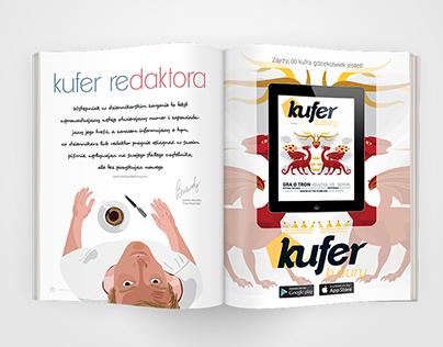 Kufer Kultury magazine layout