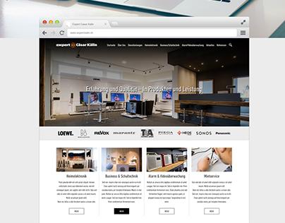 Website Redesign For Expert Caesar Electronics