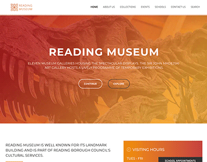 Website Proposal - Reading Museum