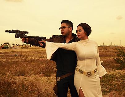 Pre-Wedding Star Wars Photoshoot