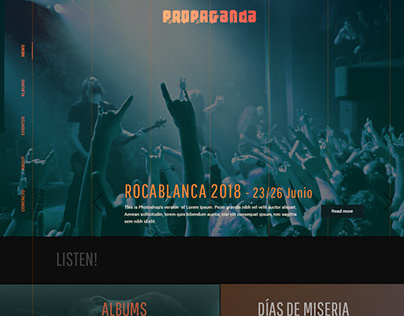PROPAGANDA METAL website