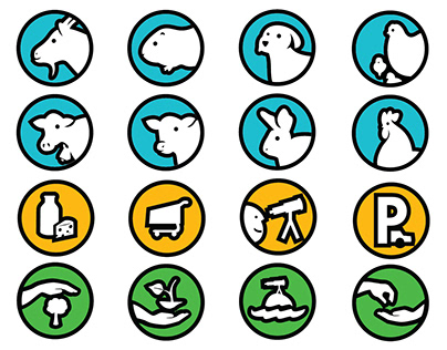 Macanú agroecological park signage system