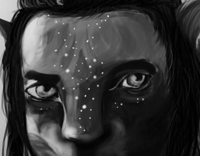 Digital Art Case Study - Avatar