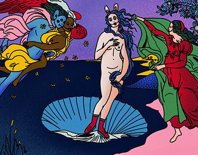 Venus pastafurbisée