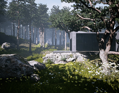 Forest House UE4
