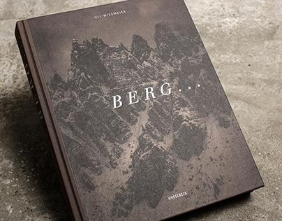 Berg … – Bookdesign