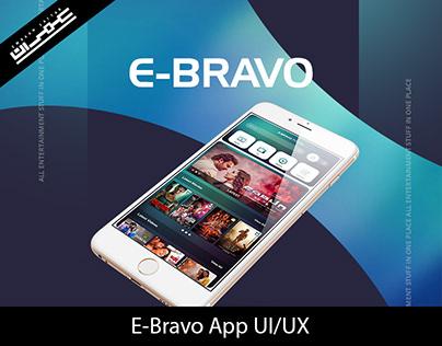 Ebravo App UI