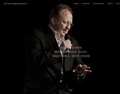 My Irish Wedding Music - Website