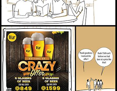 Raize the Bar Comic for Combo Offer