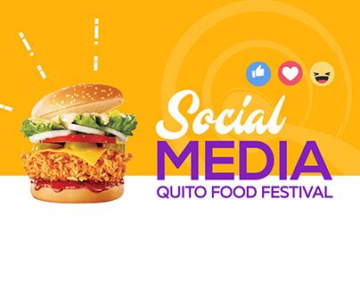Quito Food Festival - Social Media