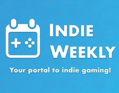 IndieWeekly: UX/UI Design