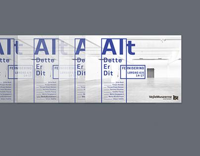 Vejle Kunstmuseum - flyer