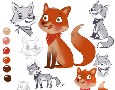 Character Design - Fox