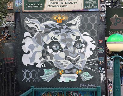 """Power"" wall in East Village, NYC@amartstop"