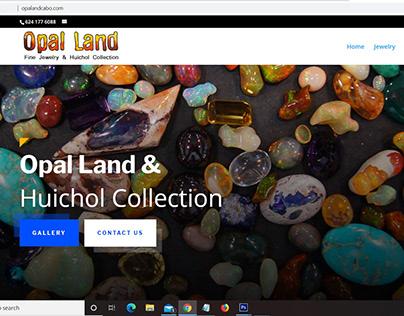 Diseño de sitio web, Opal Land Cabo