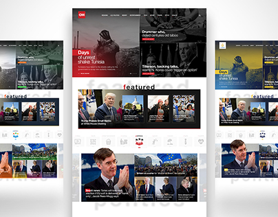 Color Adaptation to Cnn & Nbc News & Al Jazeera