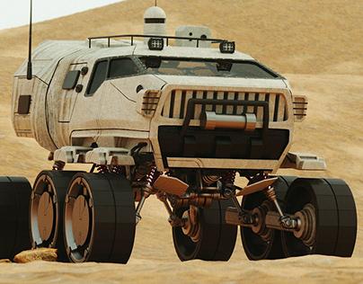 HP Mars Rover