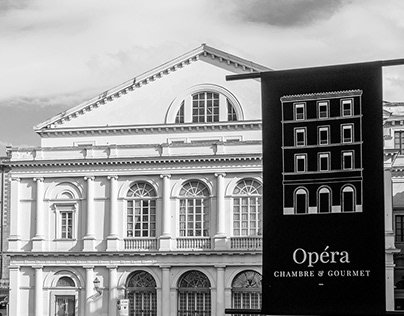 Opéra - chambre & gourmet /// BRAND IDENTITY