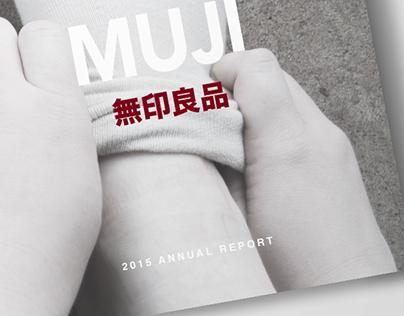 MUJI Annual Report Design