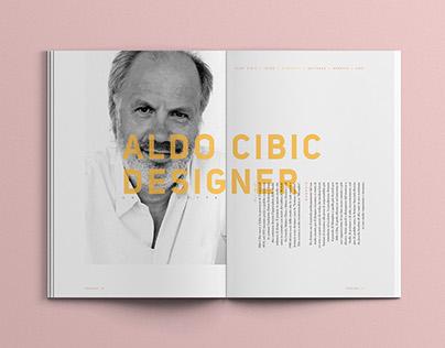 Aldo Cibic Designer