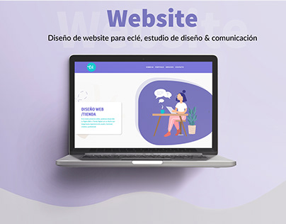 Estudio Eclé- Website Design