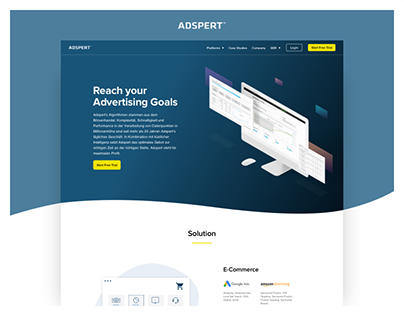 Adspert - Advert Optimizer Web Design