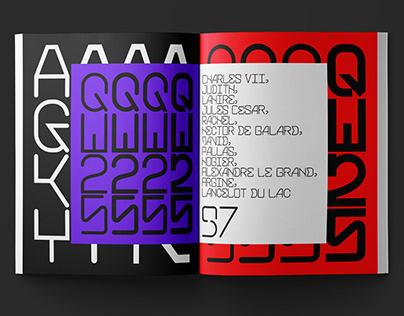 BlackJack Typeface