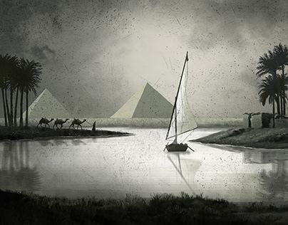 El sueño va sobre el tiempo flotando como un velero