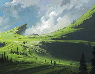 The Swirling Fields