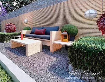 Villa Swimming Pool & Garden Design