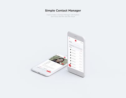 Simple Contact Manager