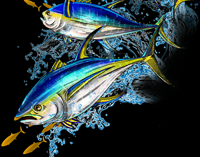 Yellowfin Tuna, Bass, Red Snapper, and Mahi Mahi