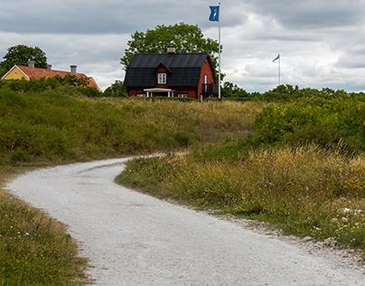 Lujgarn Lanthamn, Gotland - Sweden
