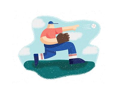 Illustration: Play Ball