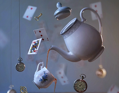 Mad Tea Party - Cinemagraph