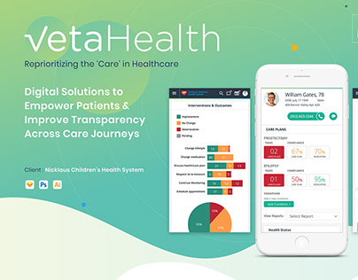 UI/UX Design-Mobile App VETA Health