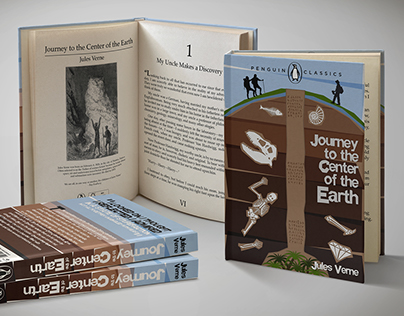 Penguin Classics: Jules Verne Collection - Concept