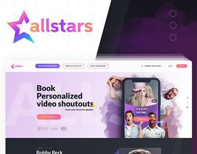 AllStars - Book Persolalized Video Shoutouts