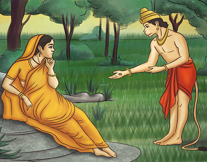 36 Ramayana Illustrations for Kids