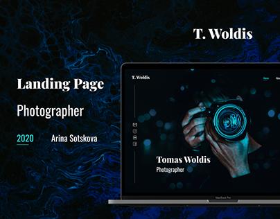 Landing Page - Photographer
