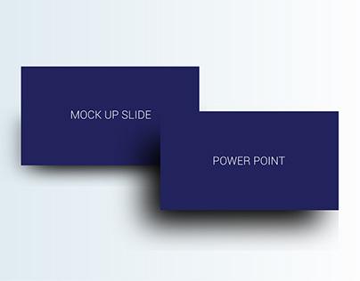 free mockup slide