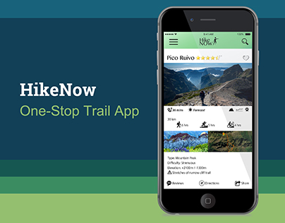 User Testing & Continuous Prototyping: HikeNow App