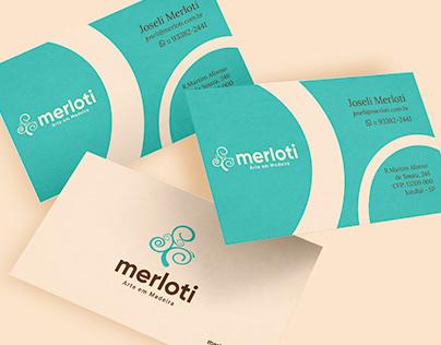 Branding - Jô Merloti - Arte em Madeira