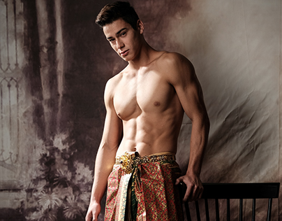 Mister Global 2017 Contestant in Thai national costume.