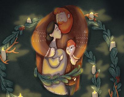 Nordic Folktales illustrated book