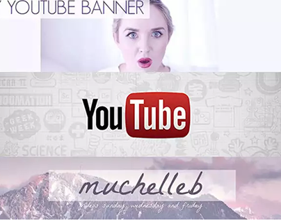YouTube Banner Designs